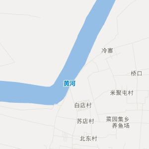 濮阳县渠村乡交通地图