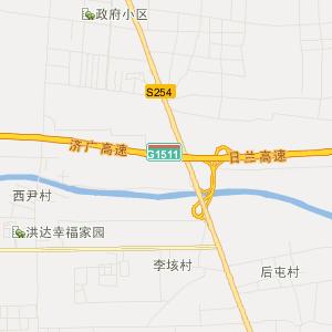 县随官屯镇地图 中国山东省菏泽市郓城县随官屯镇