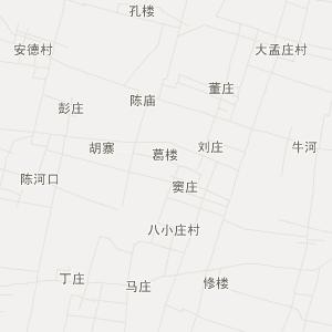 单县时楼交通地图