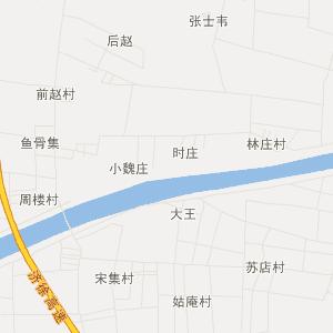 鱼台王庙交通地图_中国电子地图网