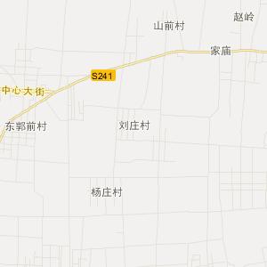 山东省旅游地图 枣庄市旅游地图