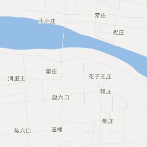 民权县孙六乡旅游地图
