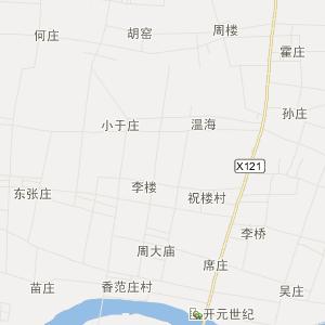 山东省旅游地图 菏泽市旅游地图