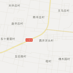 聊城冠县交通地图_中国电子地图网图片