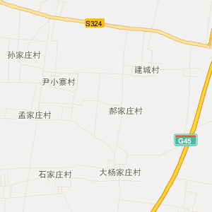 河北省旅游地图 邢台市旅游地图