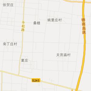 济南到高唐地图