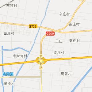 山东聊城旅游地图_聊城在线旅游图