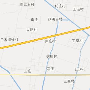 东昌府北城交通地图; 茌平县广平乡旅游地图;图片