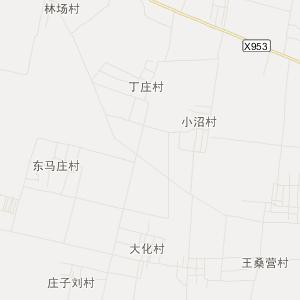 河北省旅游地图 衡水市旅游地图