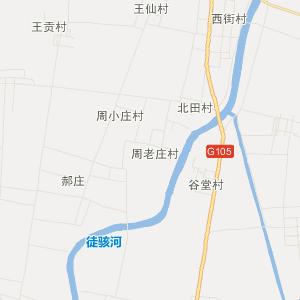 山东省交通地图 聊城市交通地图