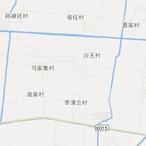 山东省交通地图 德州市交通地图