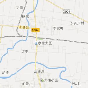 肥城王瓜店交通地图_中国电子地图网图片