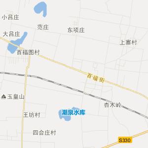 肥城市老城镇旅游地图图片