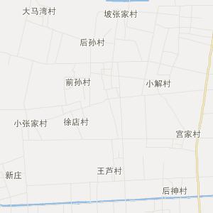齐河县行政区划地图