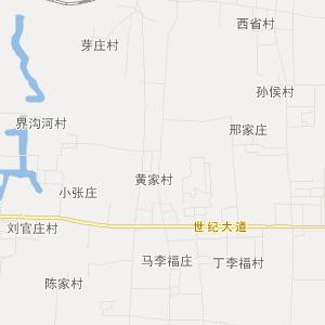 章丘市龙山街道旅游地图