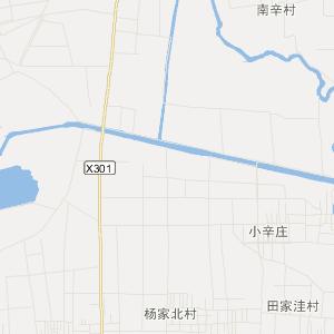 章丘市刁镇高清交通地图