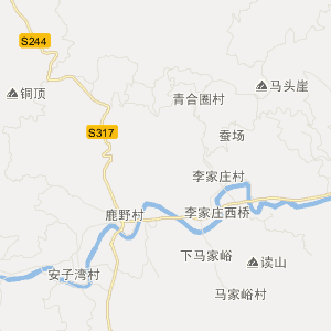 章丘市垛庄镇交通地图