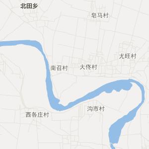 定兴县北南蔡乡交通地图