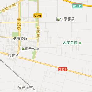 石家庄晋州旅游地图_中国电子地图网