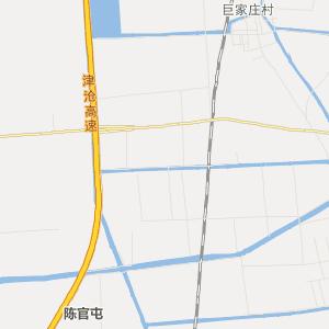 天津市旅游地图 静海县旅游地图