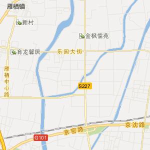 怀柔龙山旅游地图_龙山在线旅游图