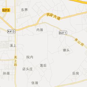 = 翔安内厝旅游地图 =