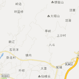 泉州永春旅游地图_中国电子地图网