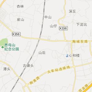 晋江紫帽交通地图_中国电子地图网