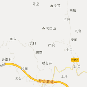 福建省旅游地图 莆田市旅游地图
