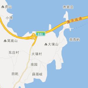 福清高山旅游地图_中国电子地图网图片
