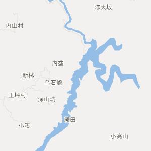 南宁市屏山乡行政地图