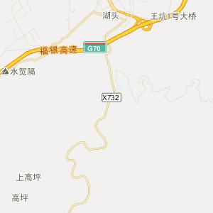 福建旅游地图 三明旅游地图