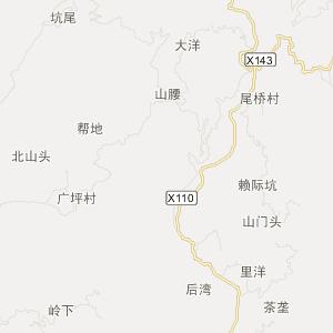 福建旅游地图 福州旅游地图