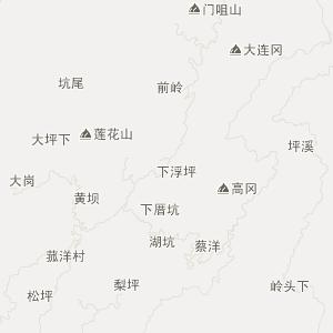 宁德市蕉城区旅游地图