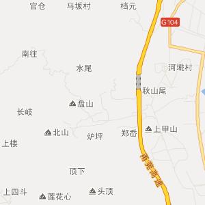 古田县城关地图