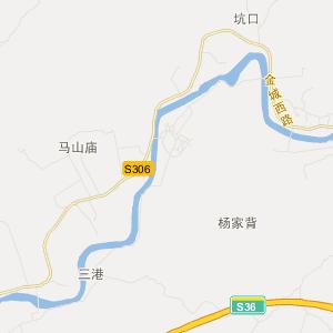 中国江苏省苏州昆山市花桥镇地图