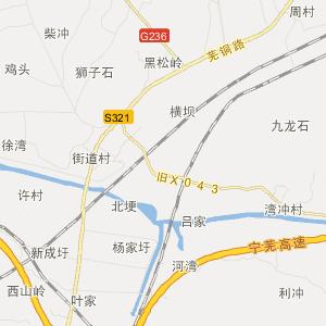 繁昌孙村交通地图_中国电子地图网图片