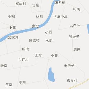 含山县昭关镇旅游地图