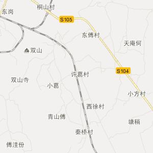 肥东桥头集交通地图_中国电子地图网图片