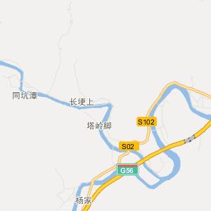 = 临安清凉峰旅游地图 =