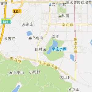 南京溧水交通地图_中国电子地图网