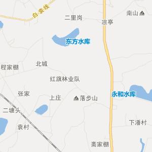 溧水县白马镇交通地图_中国电子地图网