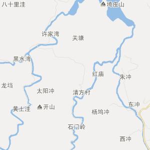 广德卢村交通地图_中国电子地图网图片