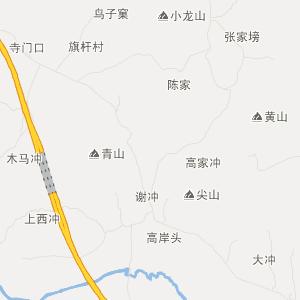 青阳县新河镇旅游地图