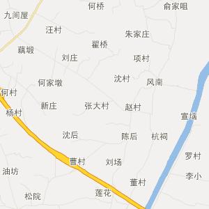 无为十里墩旅游地图_中国电子地图网