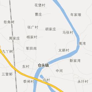 无为陡沟交通地图_中国电子地