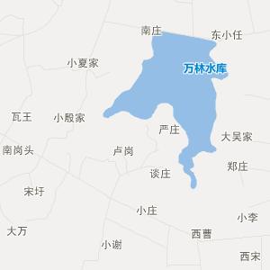 肥东八斗交通地图_中国电子地图网图片