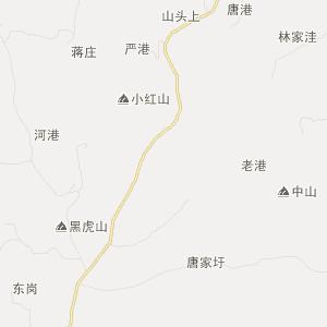 来安舜山交通地图_中国电子地图网