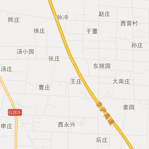 沭阳县,市区地图