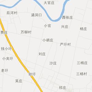 沭阳县钱集镇交通地图